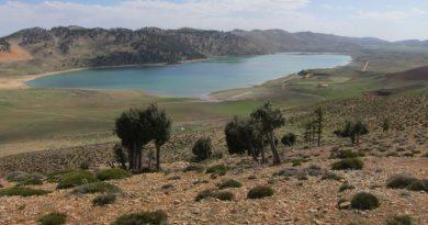 Der Sidi Ali-See im Mittleren Atlas Marokkos liegt auf einer Höhe von 2.080 Metern über dem Meeressp ... Foto: Institut für Geographie/Universität Leipzig