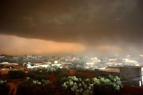 Wetterwarnung Symbolfoto