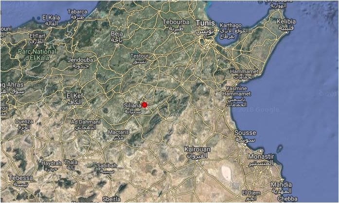Erdbeben Siliana vom 17. März 2018