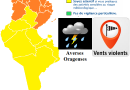 Warnung vor markantem Wetter ab Di., 1. Mai 2018, 13 Uhr für 60 Stunden