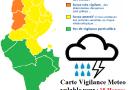 Wetterwarnung für den Norden, die Mitte und den Südosten Tunesiens ab Di., 17.04.2018, 6 Uhr