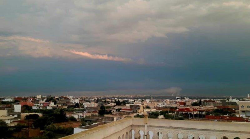 Wetterlage mit Gewittern und Sturmböen hält Montag und Dienstag an 20./21.08.2018