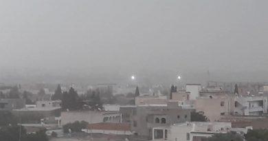 Niederschlagsmengen Tunesien: Di., 07.08.2018, 7 Uhr bis Mi., 08.08.2018, 7 Uhr