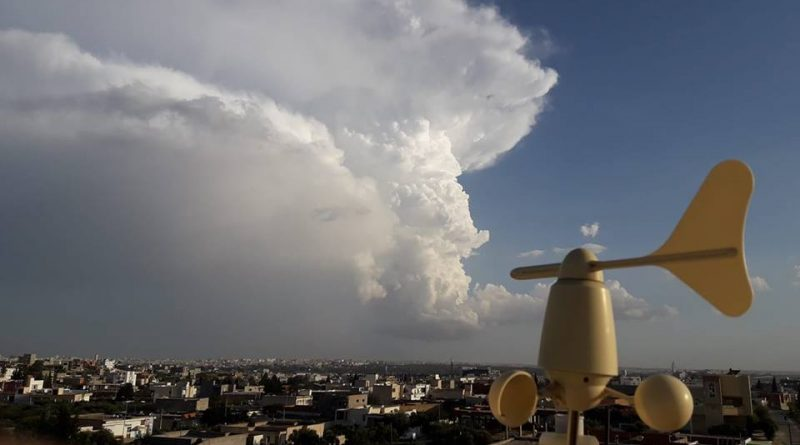 Niederschlagsmengen Tunesien: Mo., 08.10.2018, 7 Uhr bis Di., 09.10.2018, 7 Uhr