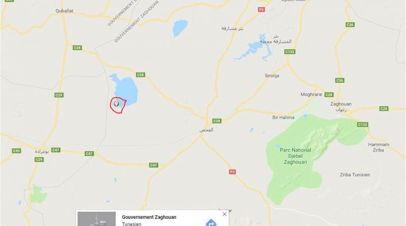 Erdbeben bei El Fahs im Gouvernorat Zaghouan (M4.04) - 31.08.2018