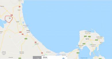 Leichtes Erdbeben in der Region Oudhref, Gabes (M3,7)