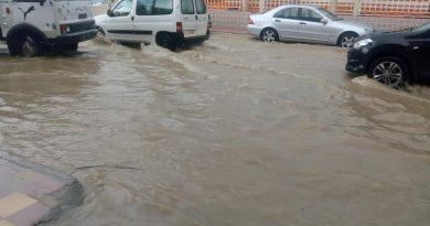 Überflutungen 13.10.2018 in Beni Khaled, Photo Credit by Radio Med Tunisie