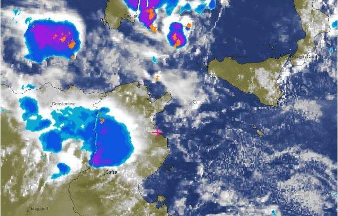 Niederschlagsmengen Tunesien: Di., 16.10.2018, 7 Uhr bis Mi., 17.10.2018, 7 Uhr
