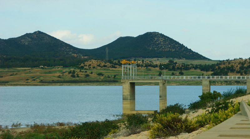 Staudamm in Tunesien Symbolfoto