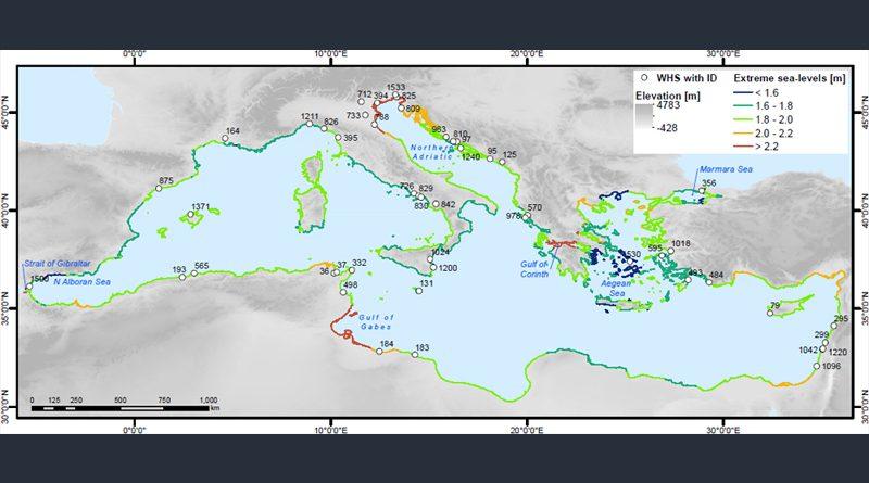 Weltkulturerbe im Mittelmeerraum durch Anstieg des Meeresspiegels bedroht