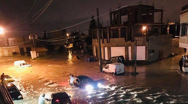 Niederschlagsmengen Tunesien: Fr., 02.11.2018, 7 Uhr bis Sa., 03.11.2018, 7 Uhr