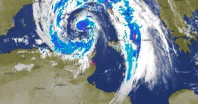 Niederschlagsmengen: Sa., 03.11.2018, 7 Uhr bis So., 04.11.2018, 7 Uhr Tunesien