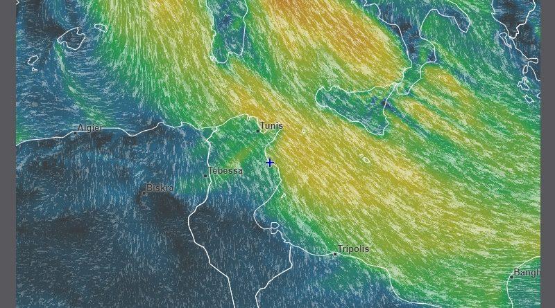 Warnung vor starkem bis sehr starkem Wind in der Nacht bis Montagmorgen (10.12.2018)