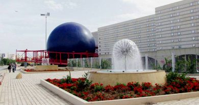 Cité des sciences - Stadt der Wissenschaften, Tunis