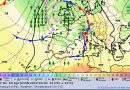 Isobarenkarte für Donnerstag, den 4. April 2019 - Quelle: Deutscher Wetterdienst (DWD)