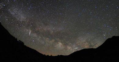 Lyriden-Meteorschauer - Foto: NASA