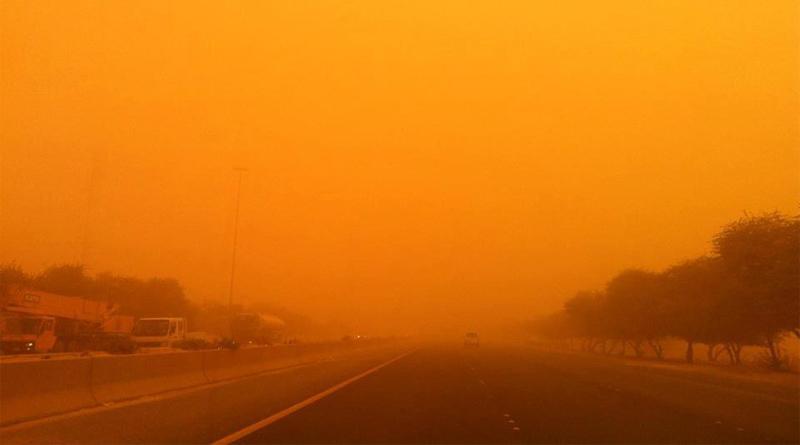 Symbolfoto Sandsturm