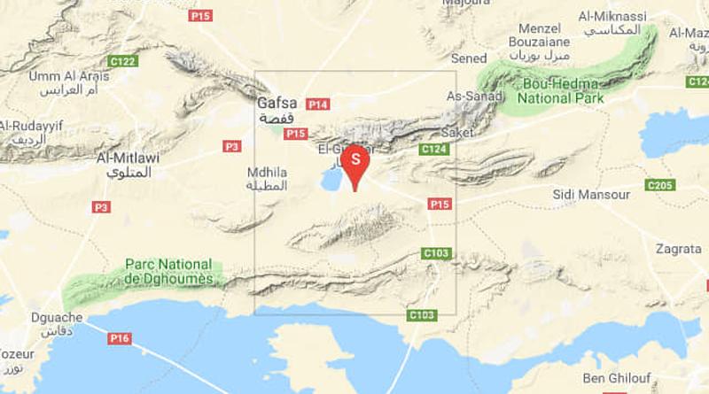 Moderates Erdbeben bei El Guettar südöstlich von Gafsa (M3,55)