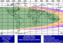 Sichtbarkeit des Mondes am 4. Juni 2019