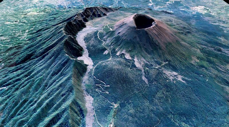 Blick auf den Vesuv, der von den Phlegräischen Feldern etwa 20 Kilometer entfernt liegt. - Foto/©: Giuseppe Vilardo