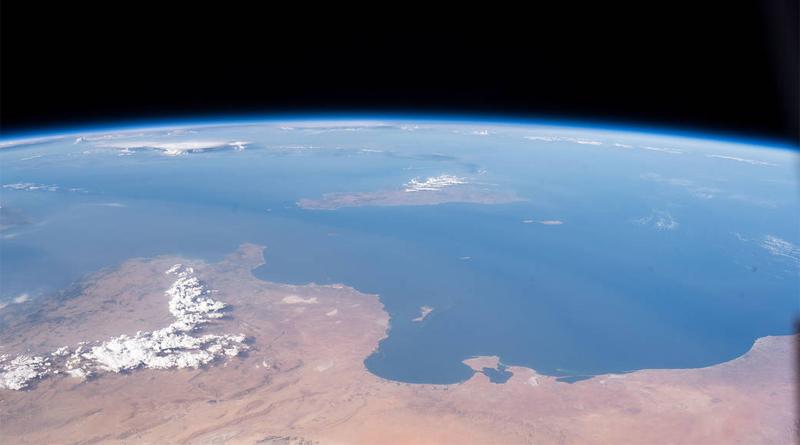 NASA-Bild des Tages: Die Küsten des Mittelmeeres mit Tunesien und Libyen aus dem All