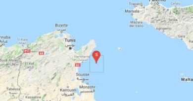 Leichtes Erdbeben im Golf von Hammamet