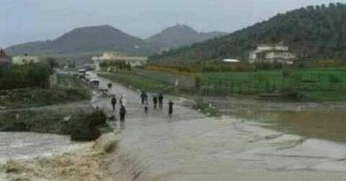 Überflutungen in Kasserine - Brigade anti terroriste - BAT