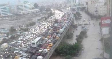 Niederschlagsmengen Tunesien: Di., 10.09.2019, 7 Uhr – Mi., 11.09.2019, 7 Uhr