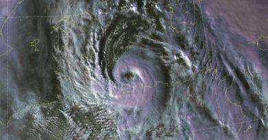 "Mittelmeertief ""Detlef"" war kurzzeitig ein mediterraner Hurrikan (Medicane)"