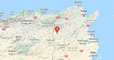Tunesien: Erdbeben bei Tajerouine im Gouvernorat Kef (M 3.06)