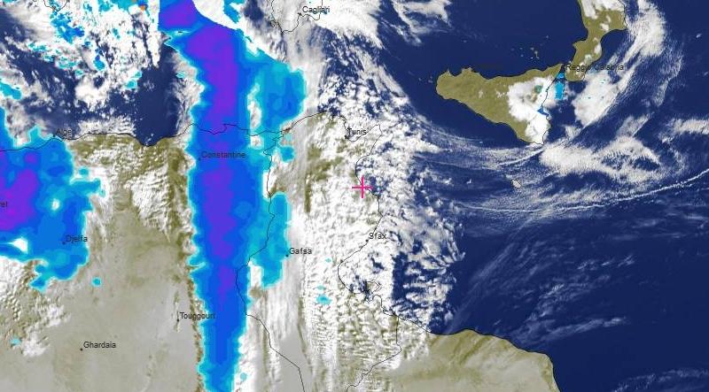 Prognose für Mittwoch, den 4. Dezember 2019: Starkwind und Regen im Westen und Norden