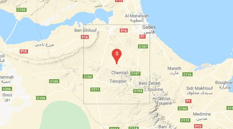 Tunesien: Erdbeben bei Nouvelle Matmata im Gouvernorat Gabès (M 3.24)