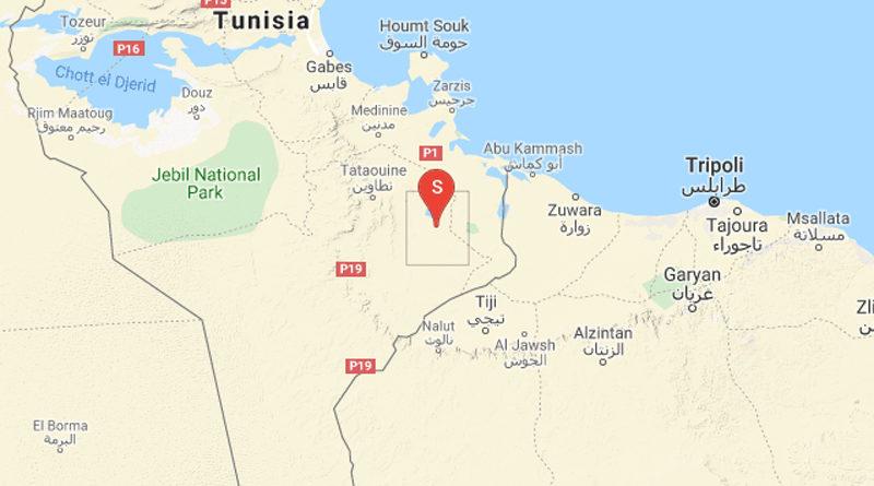 Tunesien: Erdbeben nordöstlich von Remada im Gouvernorat Tataouine (M 3.71)