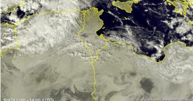 Wetterprognose Tunesien: Temperaturen etwas milder - Ab der Nacht zu Montag (20.01.2020) zeitweilige Regenfälle