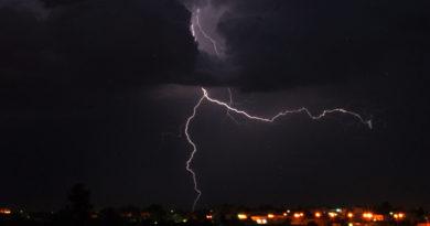 9 Sep 2020 14 Aug 2020 26 April 2020 Symbolfoto Blitz bei Gewitter