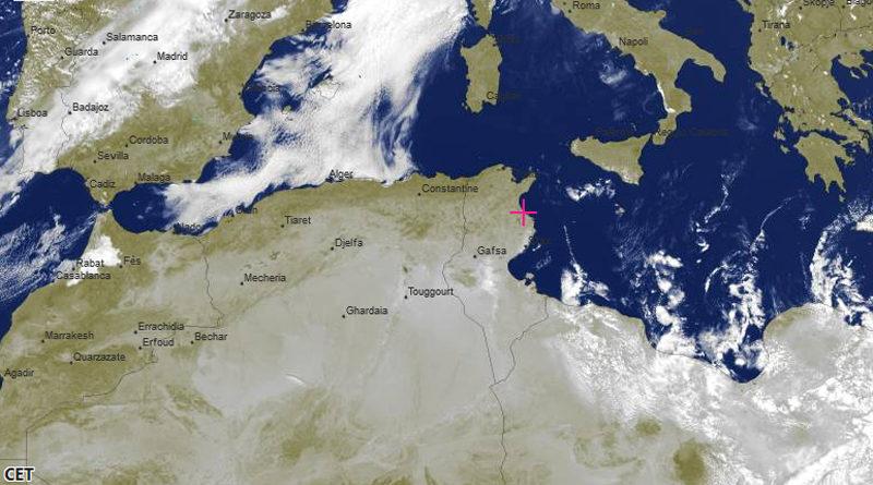 Wetterprognose Tunesien für die nächsten Tage (17. – 19. Februar 2020)