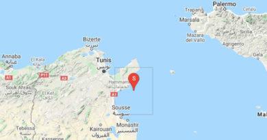 (M3.06) Erdbeben im Golf von Hammamet am 23. März 2020