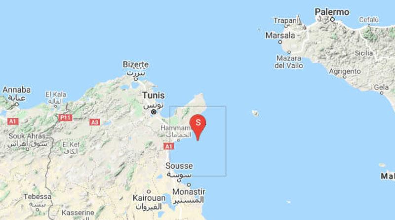 Erdbeben im Golf von Hammamet am 23. März 2020