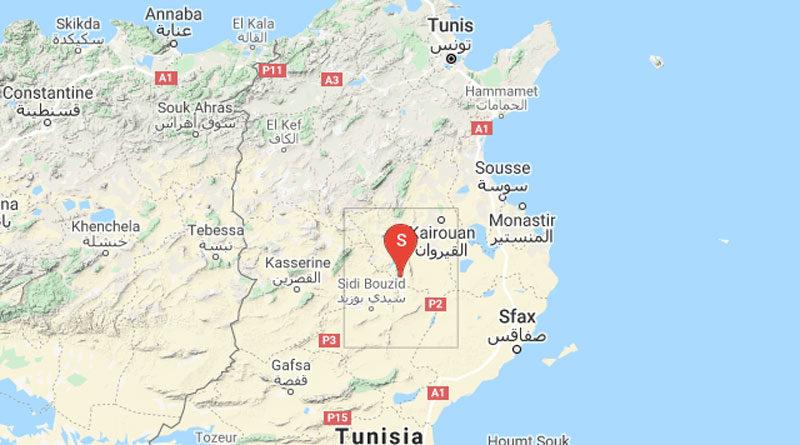 Erdbeben südwestlich von Kairouan