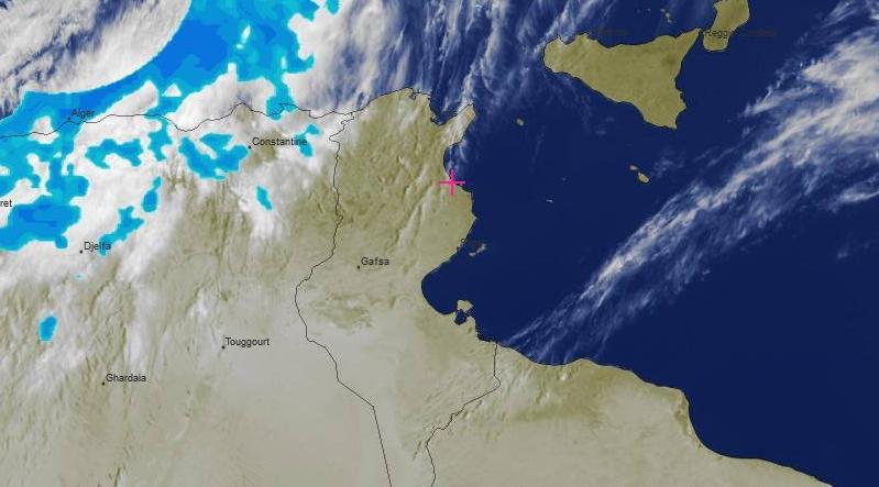 Wetterprognose Tunesien: In den nächsten Tagen unbeständig und Gewitter mit Hagel möglich