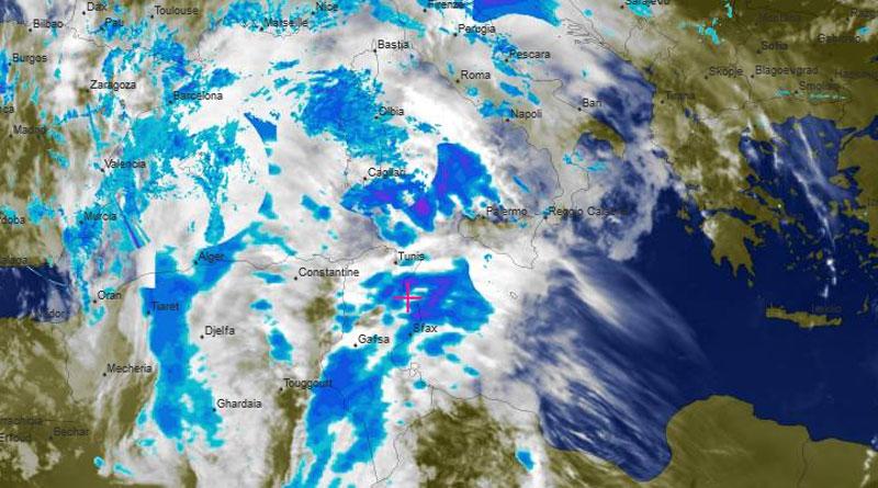 Tunesien: Warnung vor intensiven Regenfällen und starkem Wind im Westen und Norden