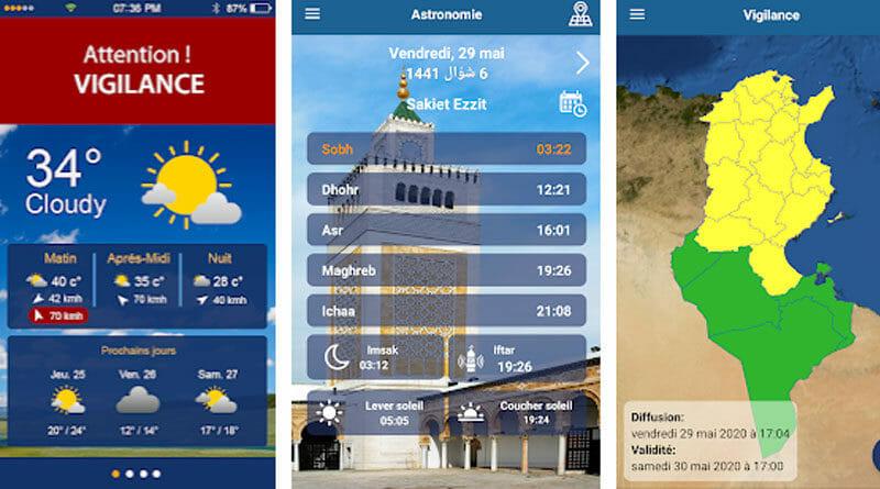 Météo INM: Android Wetter-App des Meteorologischen Instituts