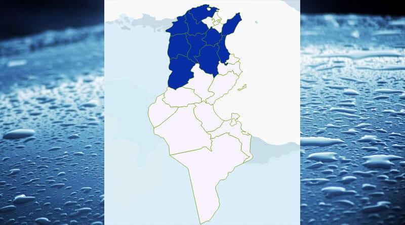 Niederschlagsmengen Tunesien: Mi., 15 Juli – Do., 16 Juli 2020, 7 Uhr