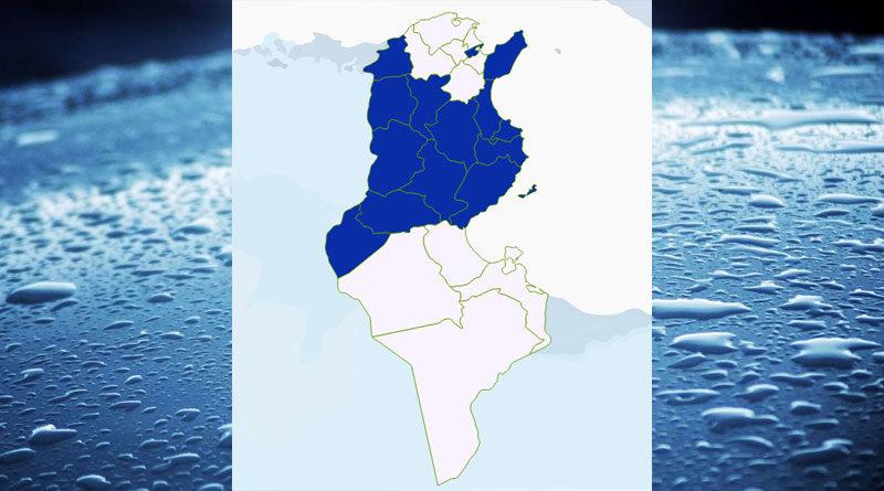 Niederschlagsmengen Tunesien: Di, 1 Sep – Mi, 2 Sep 2020, 7 Uhr