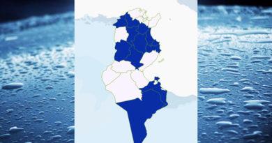 Niederschlagsmengen Tunesien: Mi, 2 Sep – Do, 3 Sep 2020, 7 Uhr