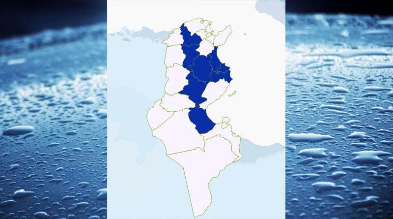 Niederschlagsmengen Tunesien: Fr, 4 Sep – Sa, 5 Sep 2020, 7 Uhr