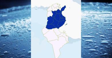 Niederschlagsmengen Tunesien: Sa, 5 Sep – So, 6 Sep 2020, 7 Uhr