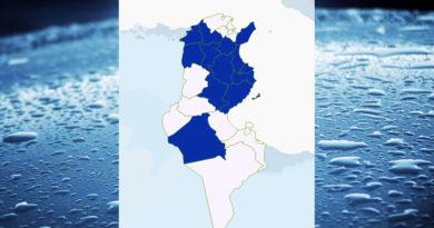Niederschlagsmengen Tunesien: So, 6 Sep – Mo, 7 Sep 2020, 7 Uhr