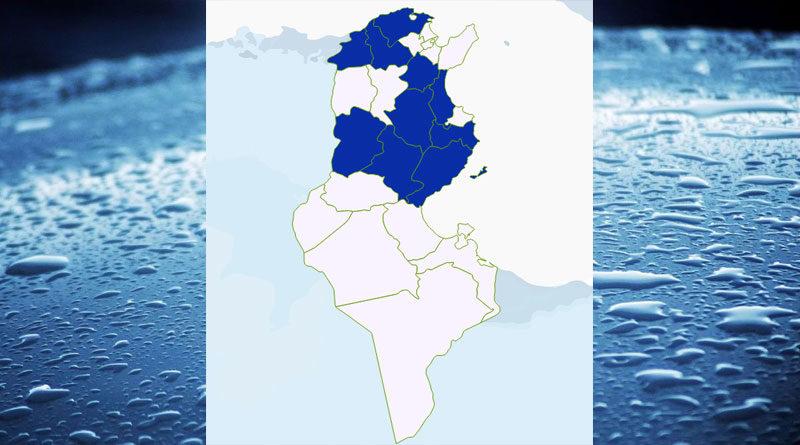Niederschlagsmengen Tunesien: Fr, 11 Sep – Sa, 12 Sep 2020, 7 Uhr