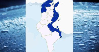 Niederschlagsmengen Tunesien: Sa, 12 Sep – So, 13 Sep 2020, 7 Uhr